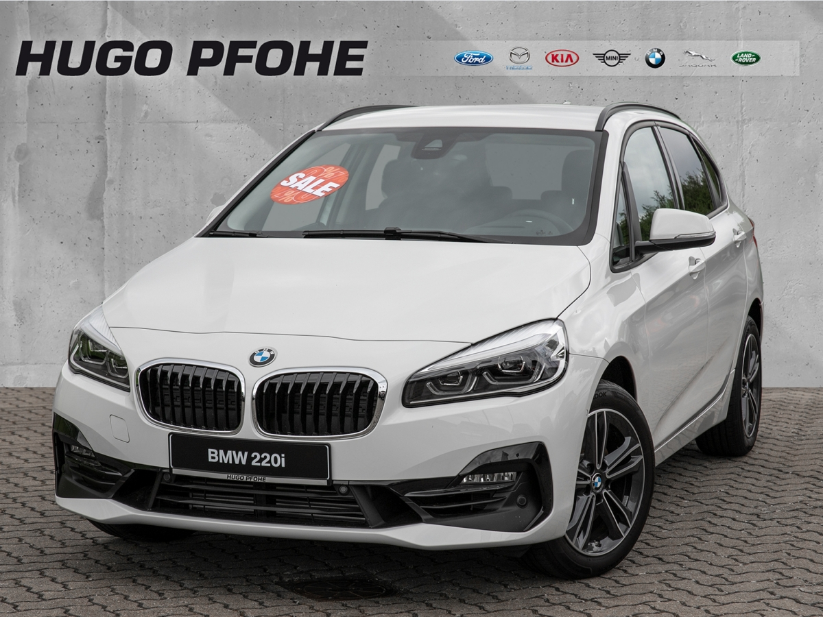 BMW 220i Active Tourer Aut.  / Navi / LED / Leder