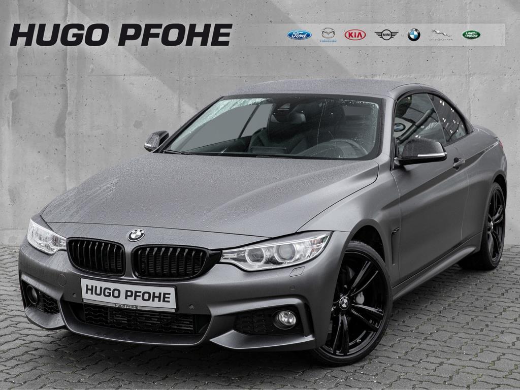 BMW 435d Cabrio xDrive Sport-Aut. M Sport / Head Up / Navigation